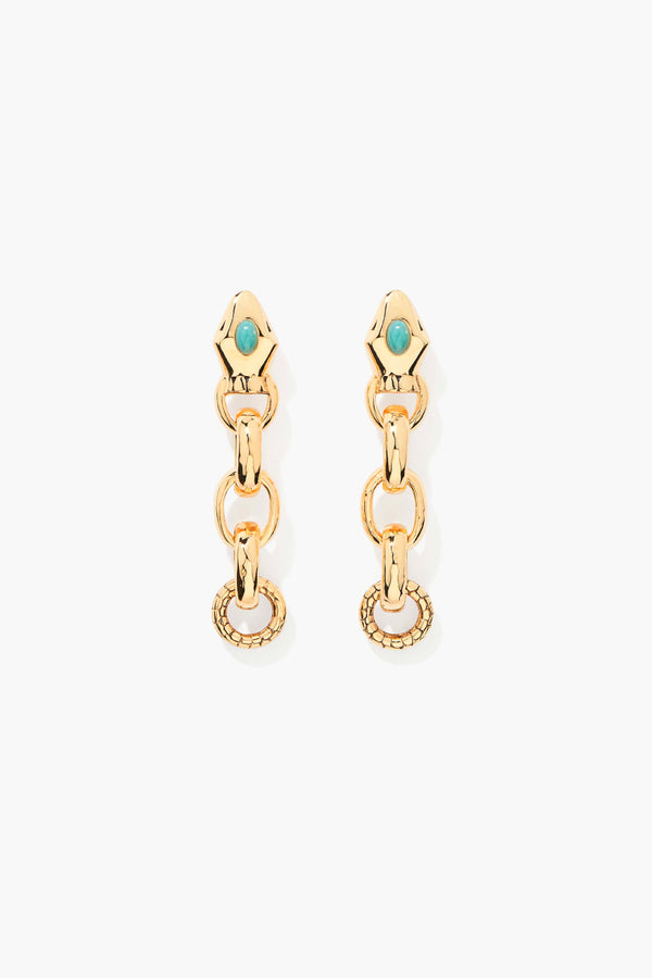 Aurelie Bidermann SS21BO14MG Tao Earrings - Yellow Gold