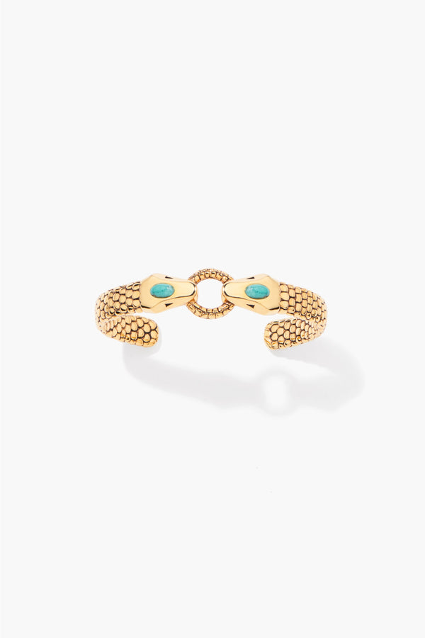 Aurelie Bidermann SS21BR10MG Tao Bracelet - Yellow Gold