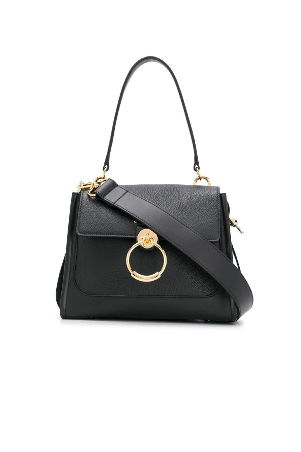 Chloé CHC20AS142C62 Small Tess Day Bag - Black