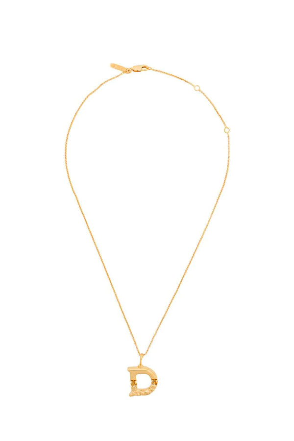 Chloé Alphabet Chain Necklace - D