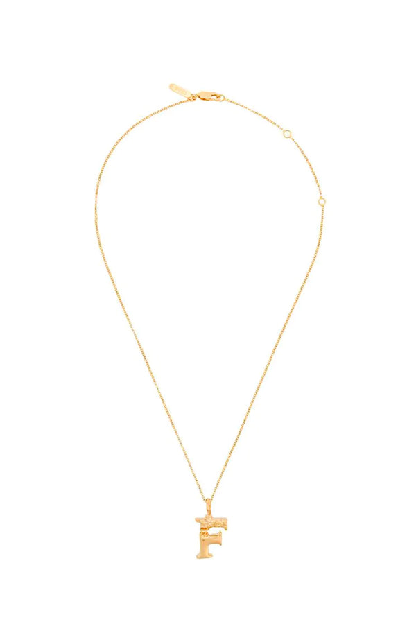 Chloé Alphabet Chain Necklace - F