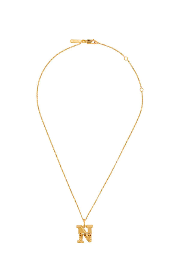 Chloé CHC20SFO2NCB7 Alphabet Chain Necklace - N