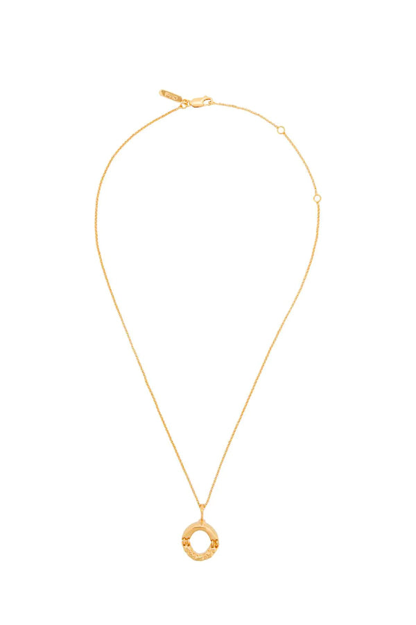 Chloé CHC20SFO2OCB7 Alphabet Chain Necklace - O