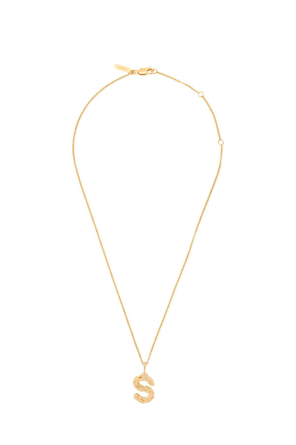Chloé Alphabet Chain Necklace - S