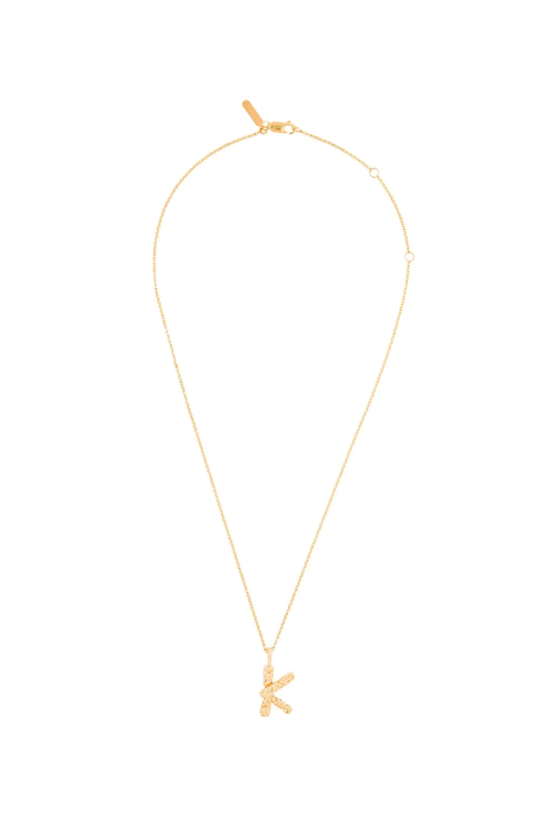 Chloé Alphabet Chain Necklace - K