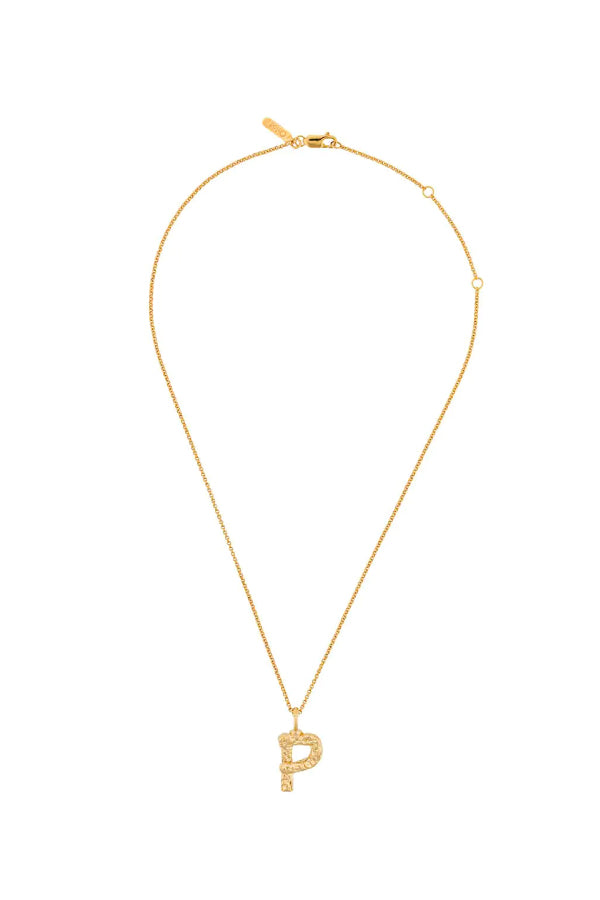 Chloé CHC20SFO2PCB8 Alphabet Chain Necklace - P