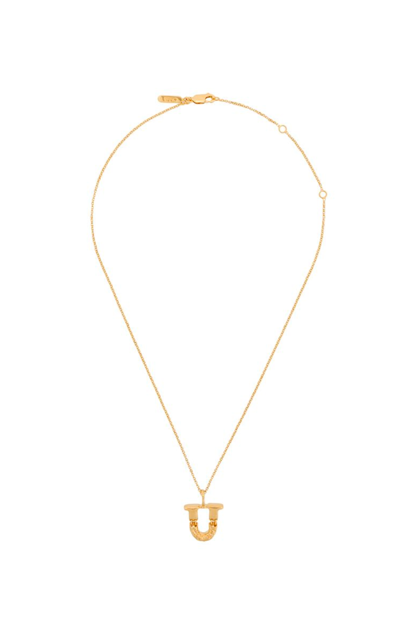 Chloé Alphabet Chain Necklace - U