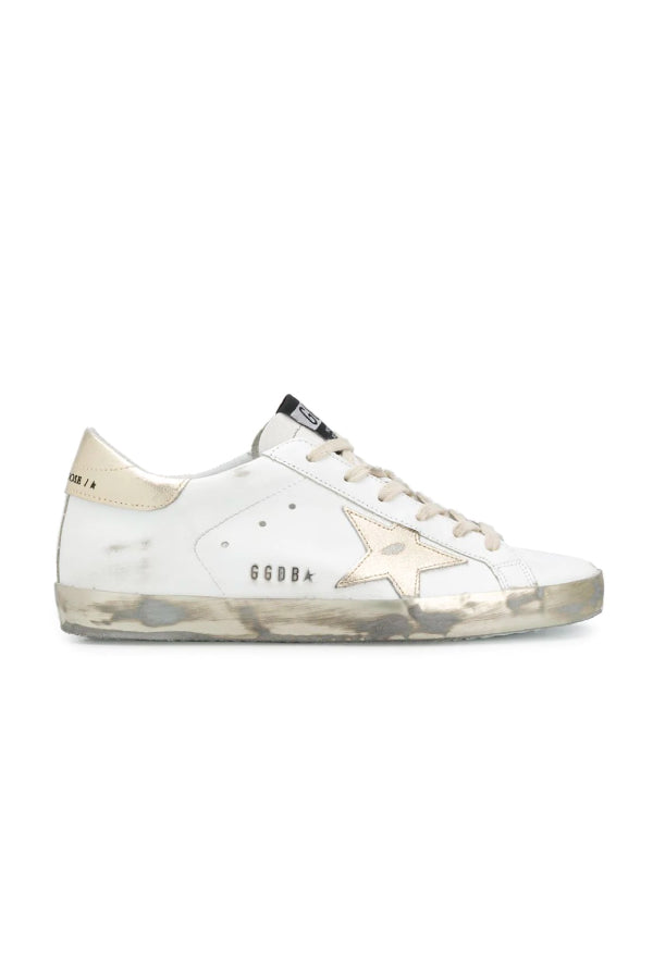 Golden Goose GWF00101.F000316 Superstar Sneaker - White/ Gold