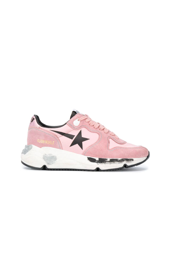 Golden Goose GWF00126.F000276 Running Sole Sneaker - Pink/ Black
