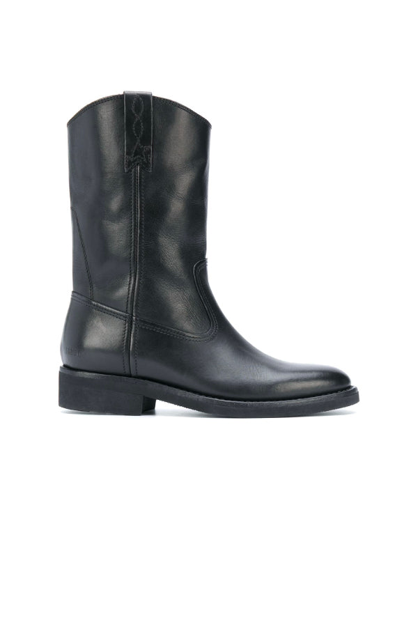 Golden Goose GWF00153.F000503 Biker Boot - Black