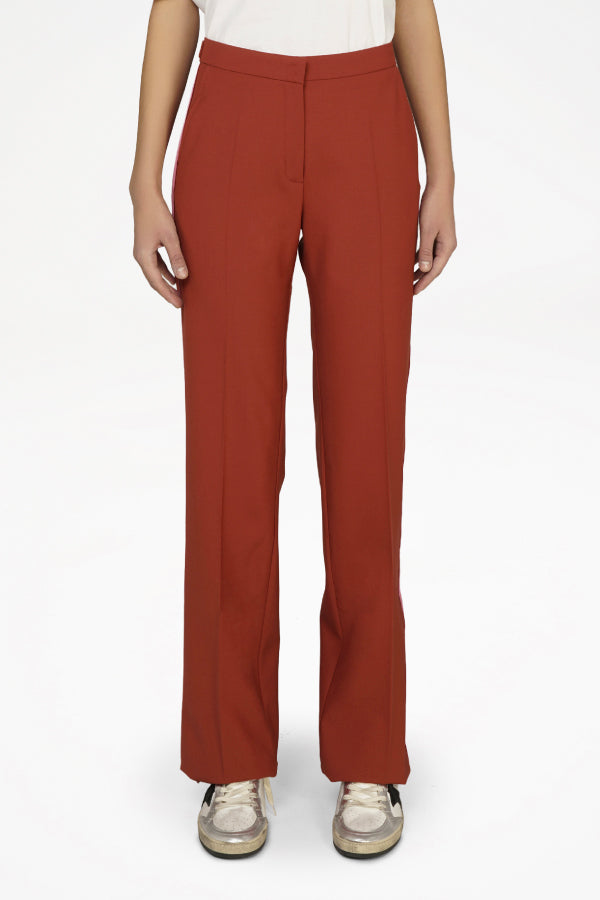 Golden Goose GWP00173.P000180 Amalia Pant - Rust Model