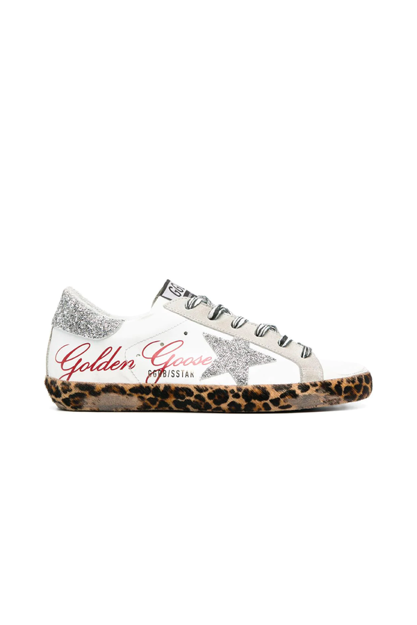 Golden Goose GWF00101.F000128.80214 Crystal Superstar Sneaker - White/ Ice