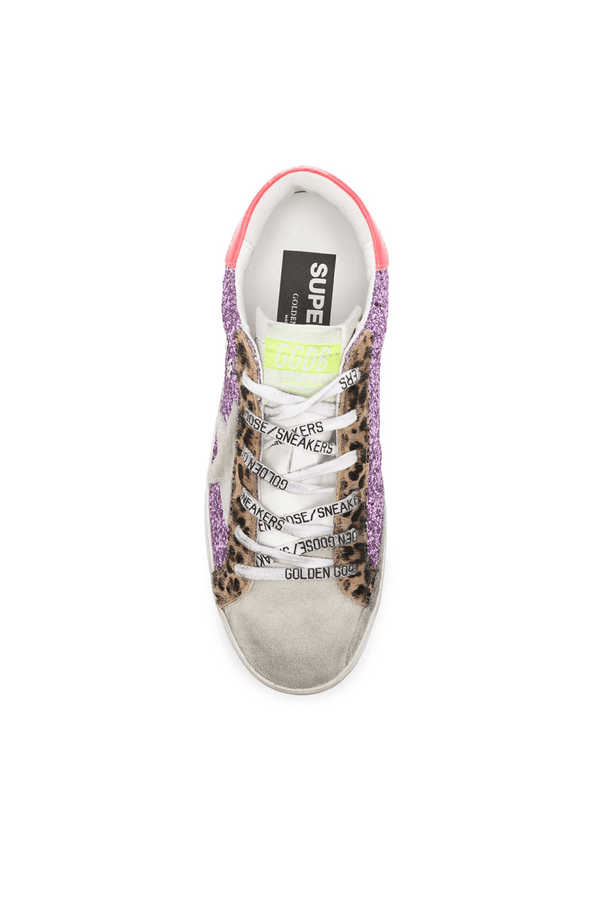 Golden Goose GWF00101.F000247.80258 Superstar Sneaker - Pink/ Ice Top
