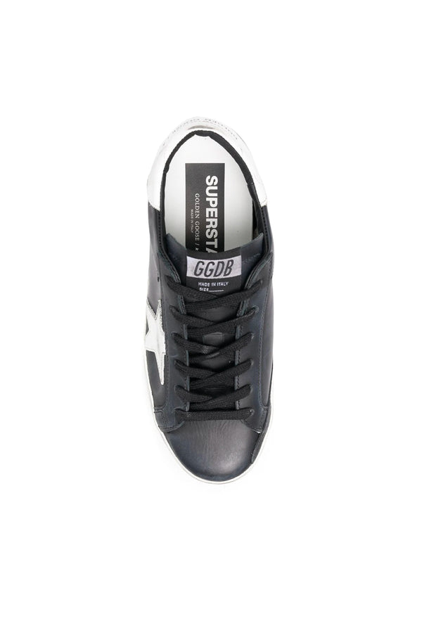 Golden Goose GWF00101.F000321.80203 Superstar Sneaker - Black/ White Top
