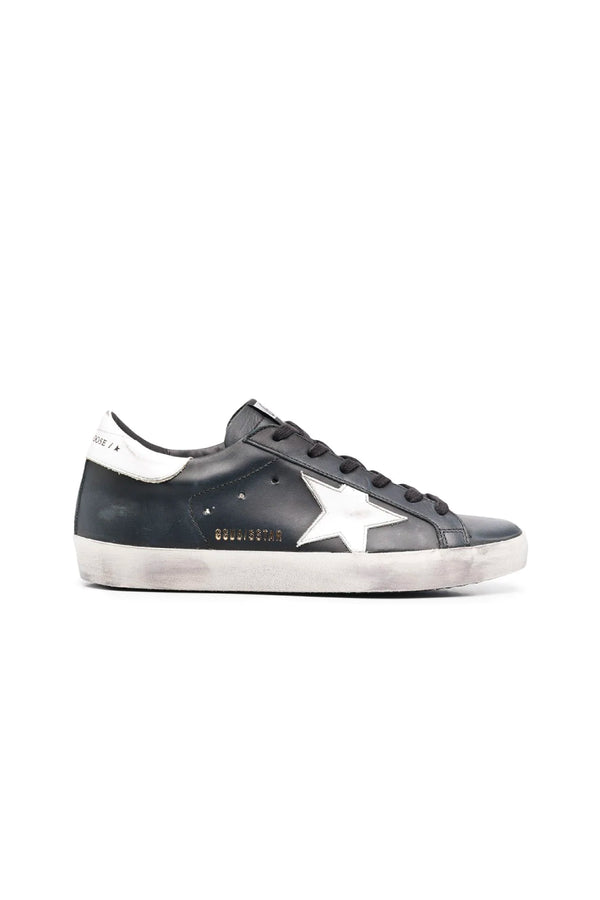 Golden Goose GWF00101.F000321.80203 Superstar Sneaker - Black/ White