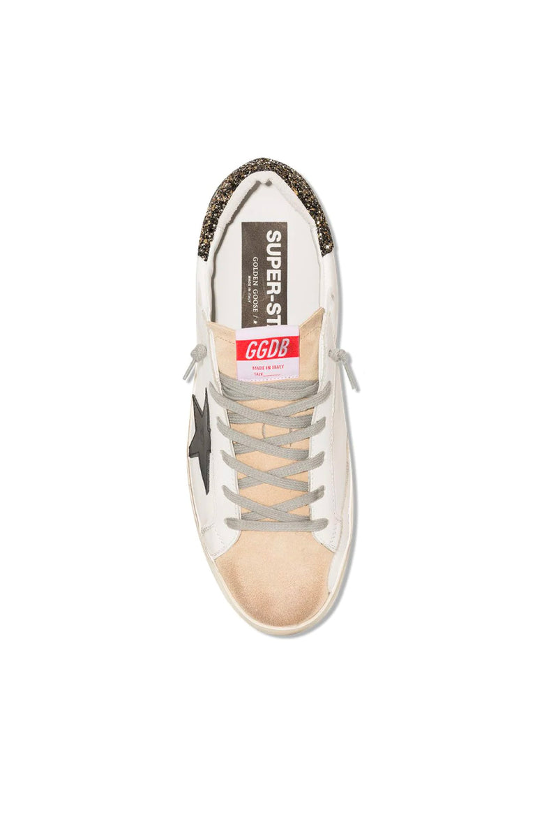 Golden Goose GWF00102.F000118.80186 Superstar Sneaker - Cappucino/ White/ Black Top