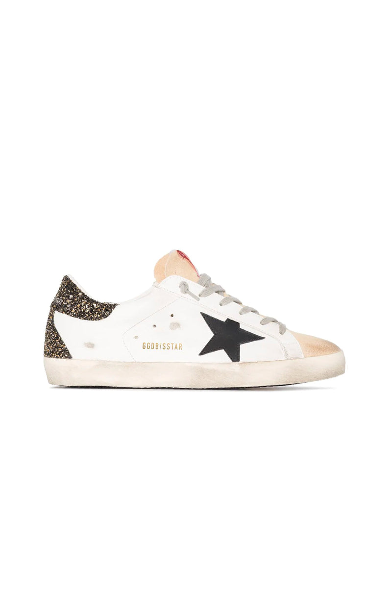 Golden Goose GWF00102.F000118.80186 Superstar Sneaker - Cappucino/ White/ Black