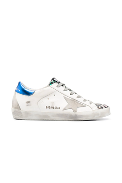 Golden Goose GWF00102.F000277.80279 Superstar Sneaker - White/ Silver Leo