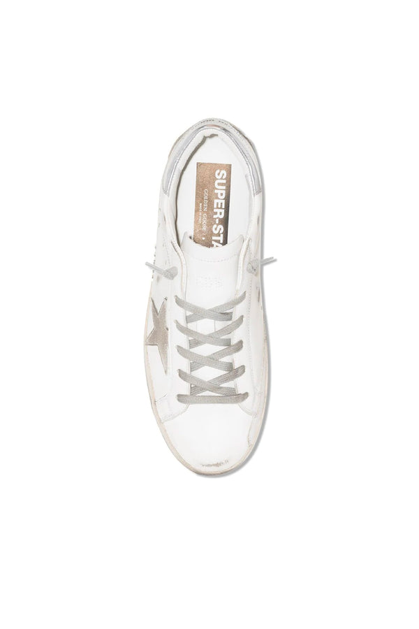 Golden Goose GWF00102.F000317.10273 Superstar Sneaker - White/ Ice/ Silver Top