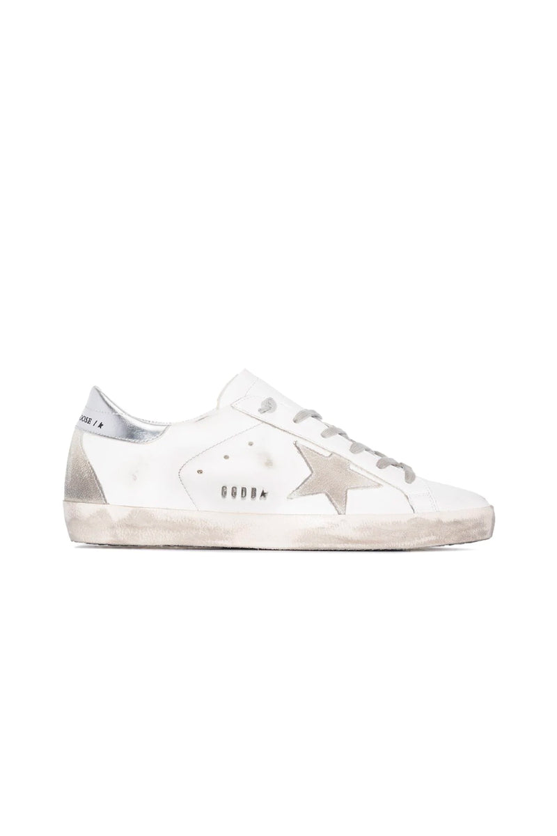 Golden Goose GWF00102.F000317.10273 Superstar Sneaker - White/ Ice/ Silver