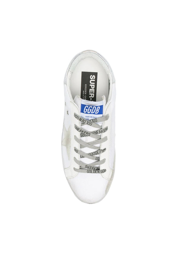 Golden Goose GWF00102.F001075.10485 Superstar Canvas Sneaker - Optic White/ Ice/ Silver Top