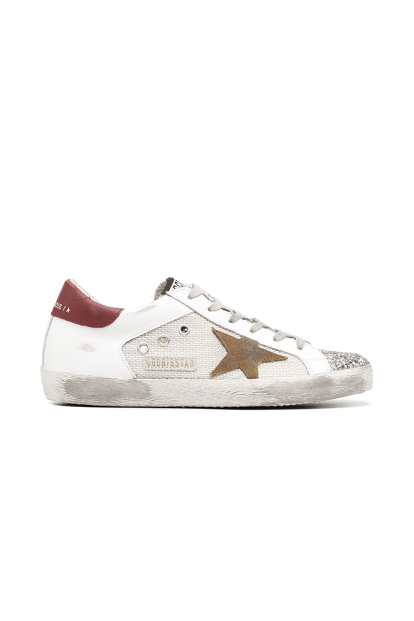 Golden Goose GWF00103.F000156.80188 Superstar Sneaker - Silver/ White