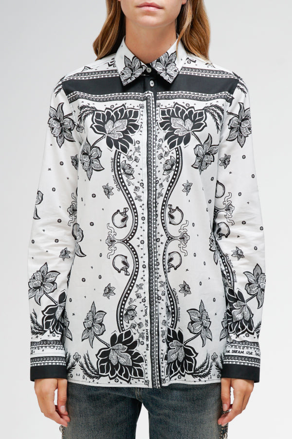 Golden Goose Natalia Shirt - White Foulard