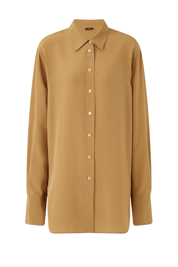 Joseph JF005232 Brooks Crepe Shirt - Almond