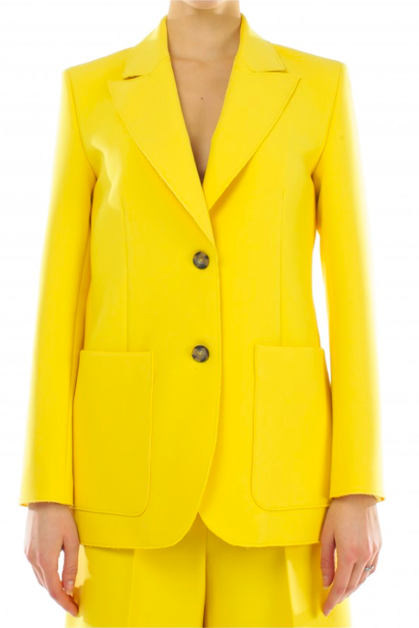 MSGM Single Breasted Blazer - Sun
