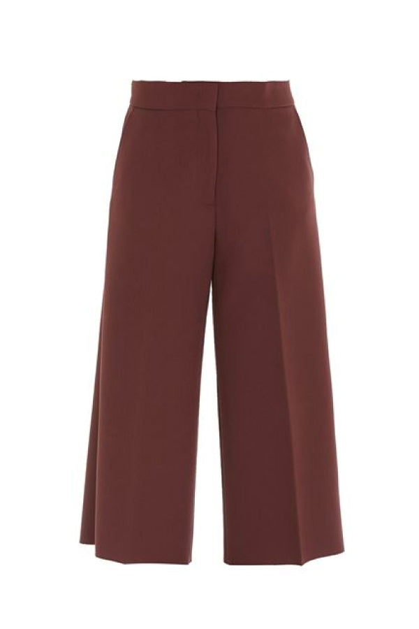 MSGM 2941MDP15207651 Wide Leg Culotte - Chocolate