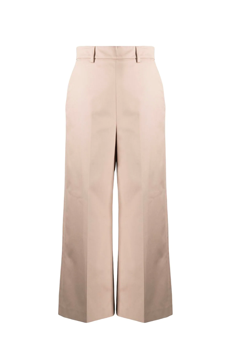 MSGM 3041MDP06-217105 Cotton Pants - Beige