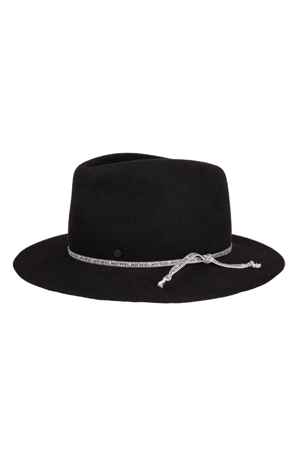 Maison Michel 1003088001 Andre On-The-Go Felt Hat - Black