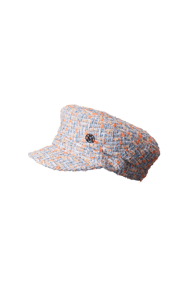 Maison Michel 2213053001 New Abby Cap - Spring Tweed