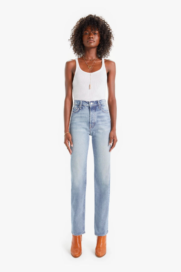 Mother Denim 10064-844 The High Waisted Rider Skimp - Give It Up Front