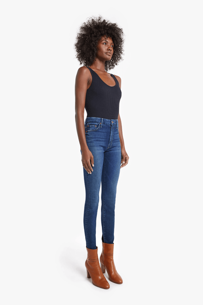 Mother Denim 1221-661 The High Waisted Looker - Until Next Time Side