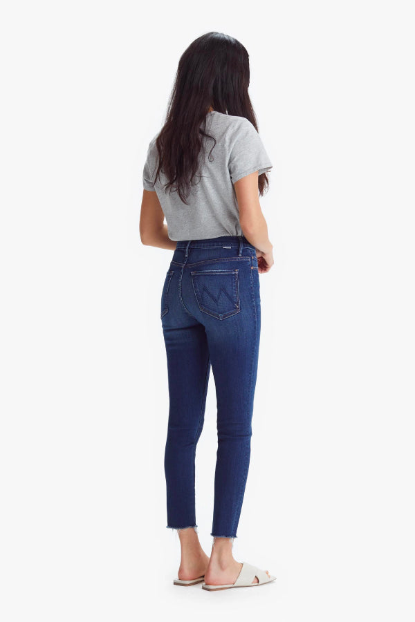 Mother Denim 1411-686 The High Waisted Looker Ankle Fray - Home Movies Back