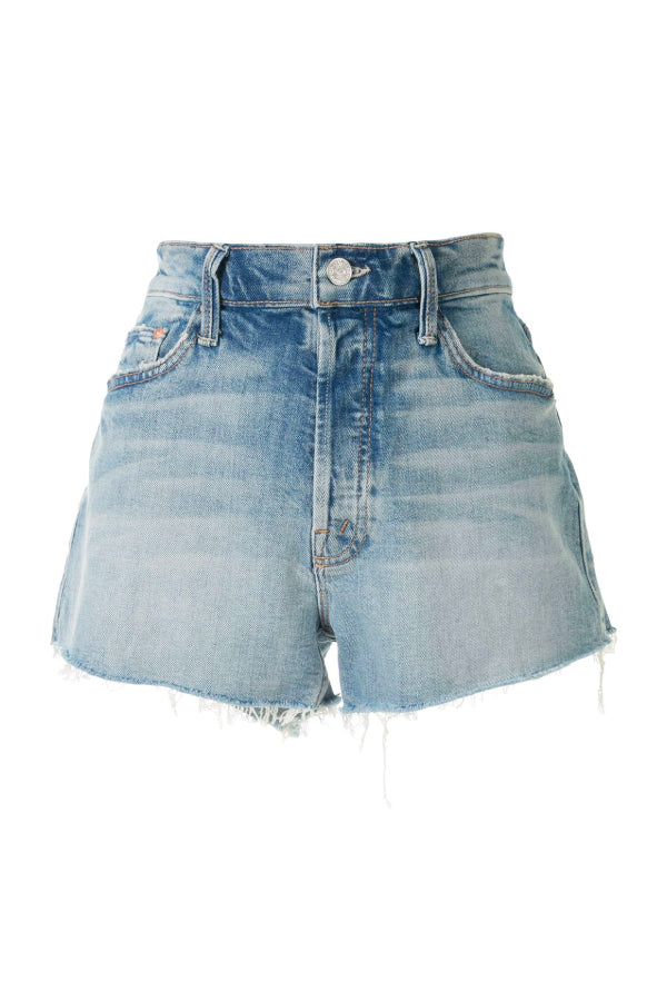 Mother Denim 4332H-259 The Tomcat Kick Fray Short - I Confess