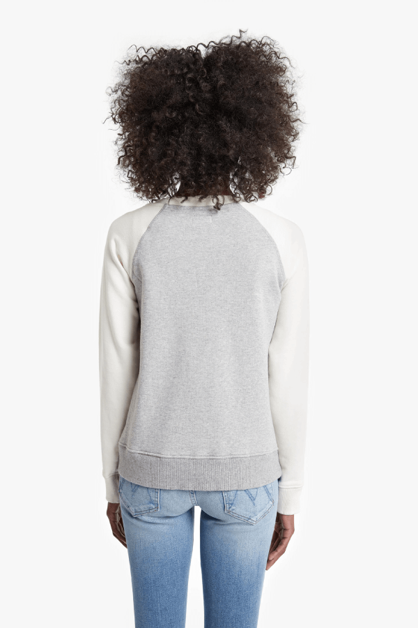 Mother Denim 8042-272 The Square Sweatshirt - Adios Back