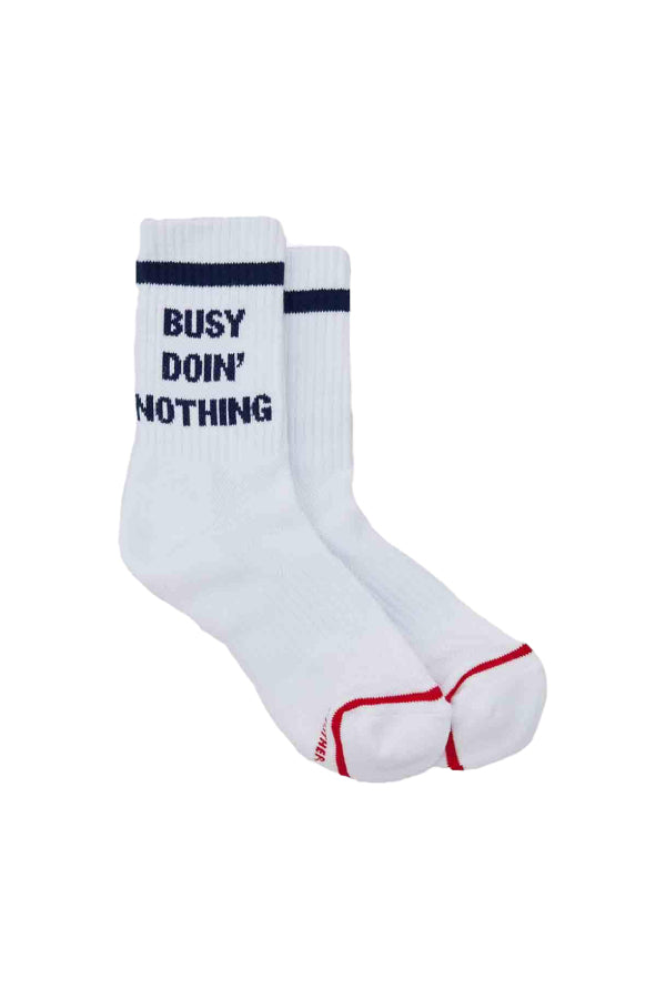 Mother Baby Steps Socks - Busy Doin' Nothing