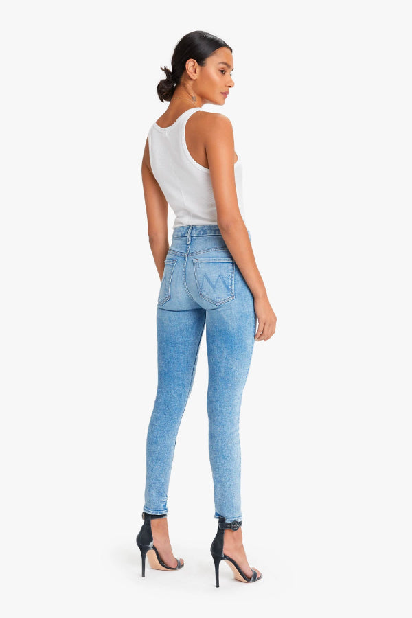 Mother Denim High Waisted Looker Dropping Out 1221-775-DOU Back (4722571804807)