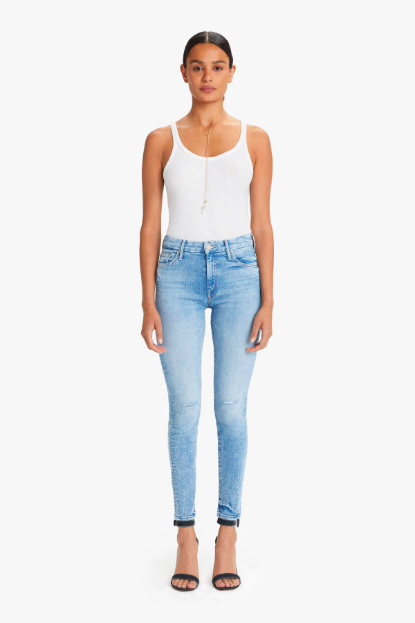 Mother Denim High Waisted Looker Dropping Out 1221-775-DOU (4722571804807)
