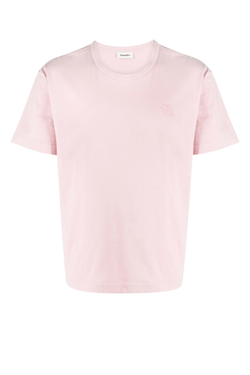 Nanushka NM21RSTP00900 Reece Embroidered T-Shirt - Pink
