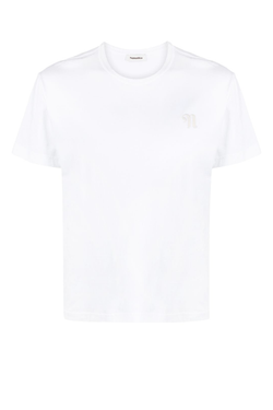 Nanushka NM21RSTP00931 Reece Embroidered T-Shirt - Off White