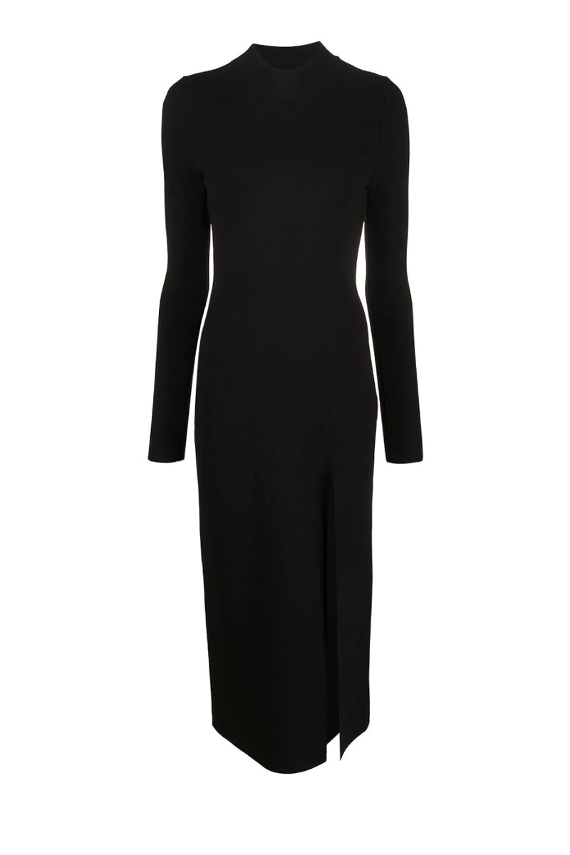 Nanushka NW21SSDR04452 Elin Back Cut-Out Dress - Black