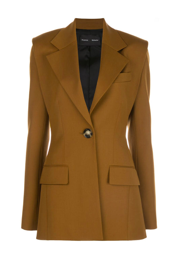 Proenza Schouler R2032004 Novelty Blazer - Fatigue