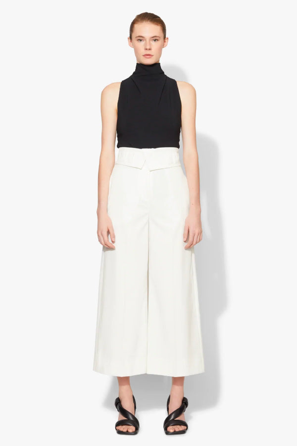 Proenza Schouler Tech Suiting Culotte - Off White (4640613531783)