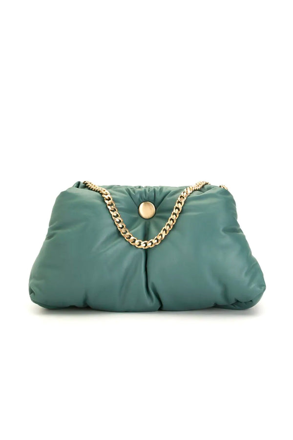 Proenza Schouler H01024 Puffy Chain Tobo Bag - Orion Blue