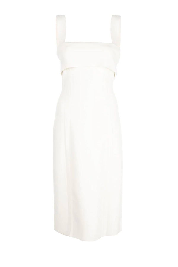 Proenza Schouler White Label W2037442 Compact Knit Tank Dress - Off White