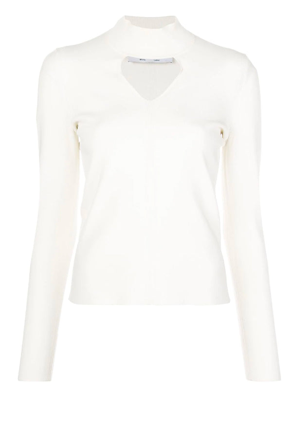 Proenza Shouler White Label WL2037440 Compact Knit Turtleneck - Off White