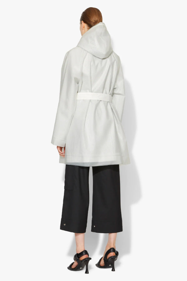 Proenza Schouler White Label Belted Raincoat - Milky White